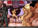 Space invaders in rpg porn shooter game
