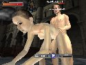 Sex action game with interactive 3d porn